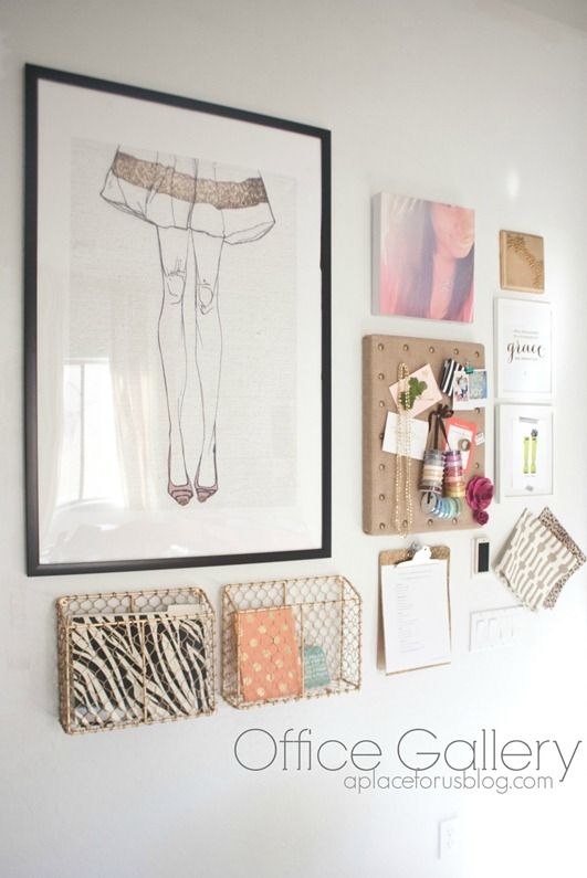 StyleScoop Office Gallery {Inspiration} By A Place For Us