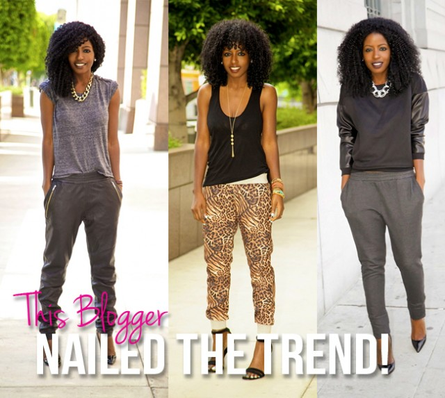 Fashion Beauty And Lifestyle Blogs: 8 Rockin' Joggers We Love PLUS How To Wear The Trend