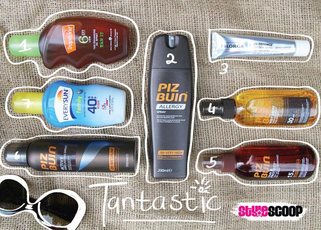 Tantastic! 7 Summer Sunscreens