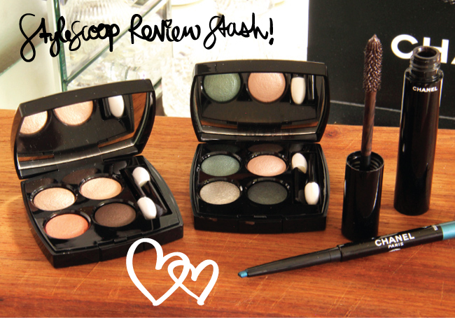 Review & Swatches! Chanel Les 4 Ombres, 2014 Eye Collection