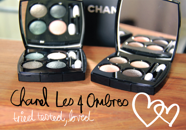 Chanel Les 4 Ombres 2014 Eye Collection - Review, Info and Swatches on StyleScoop.me