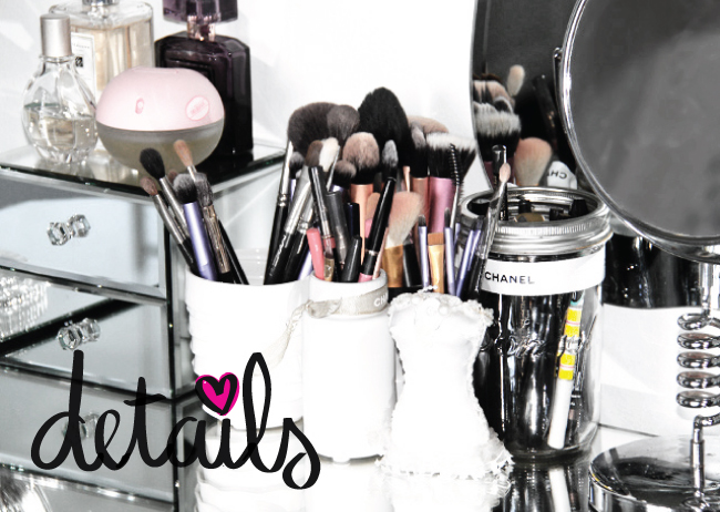 Dresser Details! How I store my Makeup