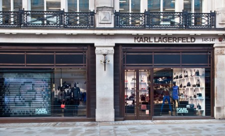 Karl Lagerfeld Touched Down in London Town