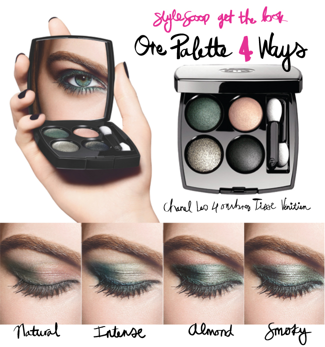 How To Create 4 Looks with One Eyeshadow Palette