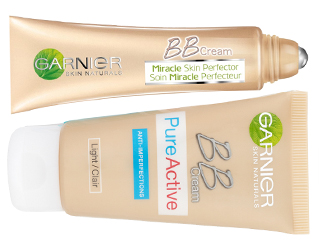 New from Garnier: BB Cream PureActive & BB Cream Eye Roll On