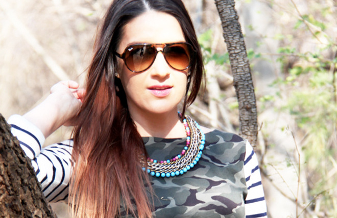 Camo Stripes {outfit.post}