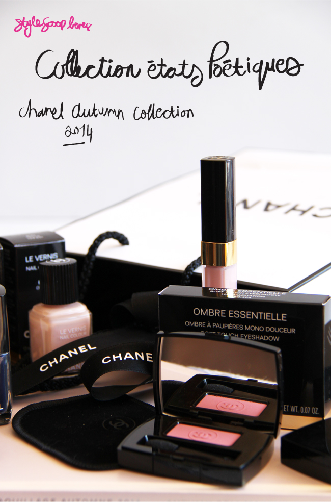 Chanel États Poétiques Collection for Fall 2014