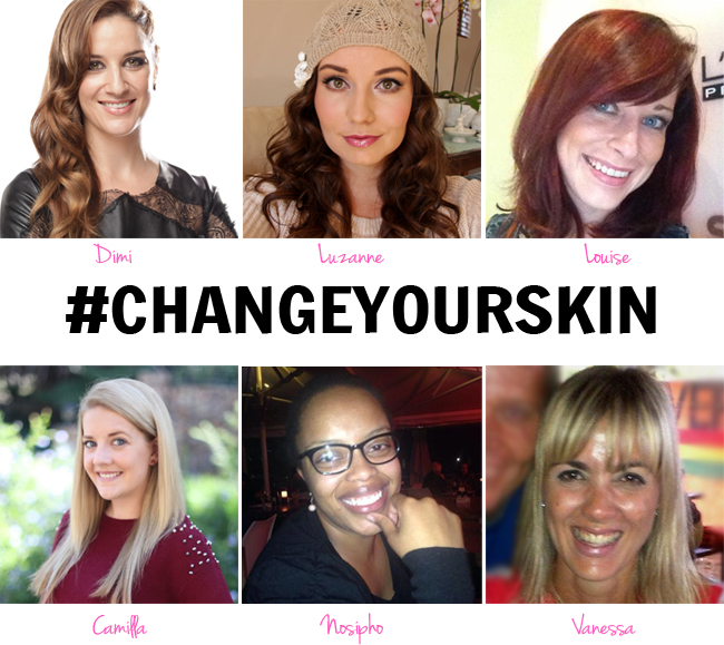 #Change Your Skin – Meet My Fab Five, changing their skin with @KiehlsSA