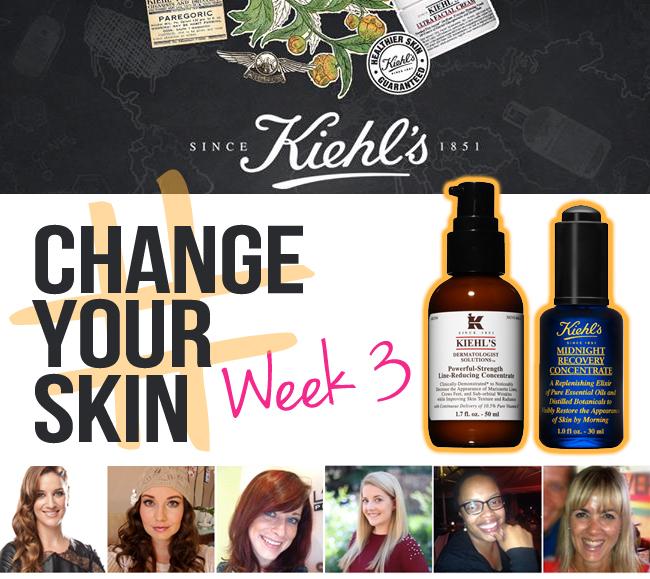 Week 3: Kiehl's #ChangeYourSkin Challenge
