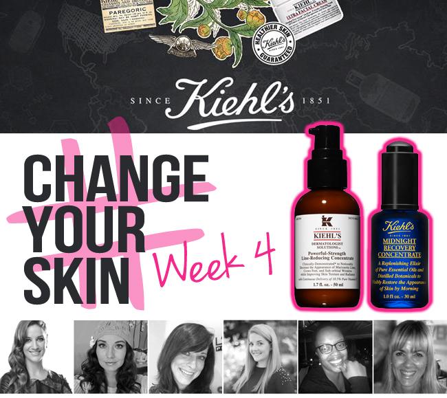 WEEK 4: KIEHL'S #CHANGEYOURSKIN CHALLENGE