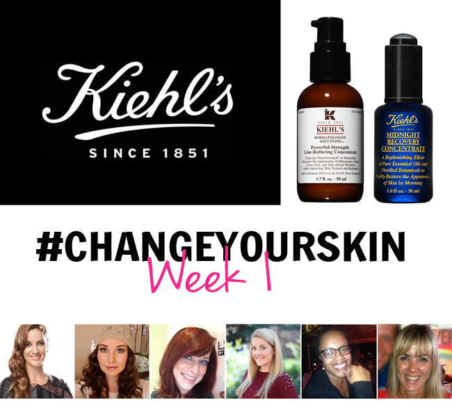 One Week Into Our Kiehl's #ChangeYourSkin Challenge