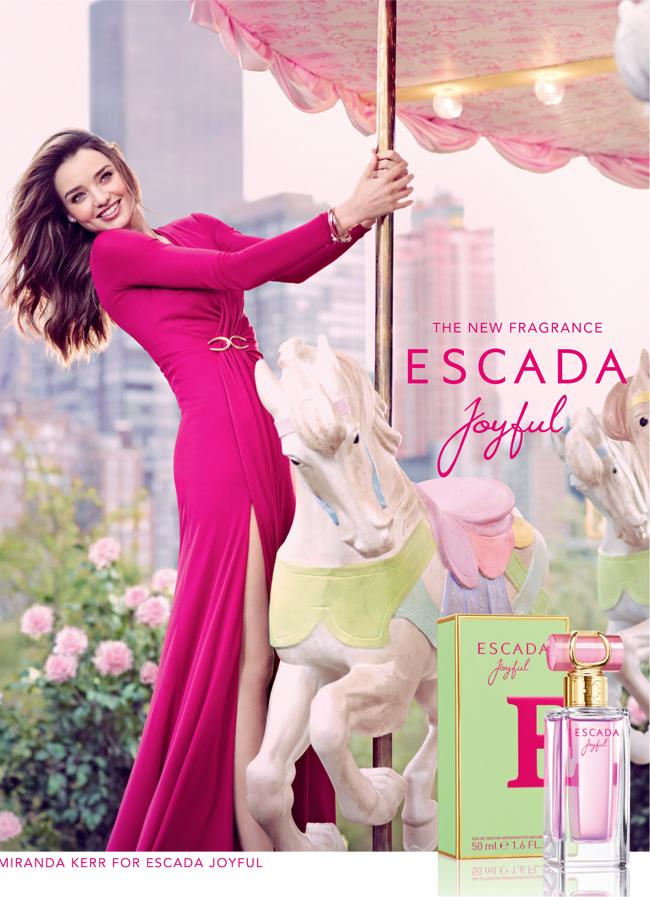 Miranda Kerr for Escada Joyful