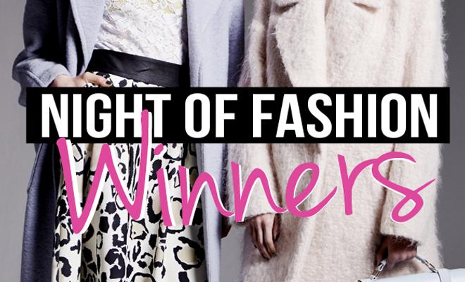 My Night of Fashion Winners