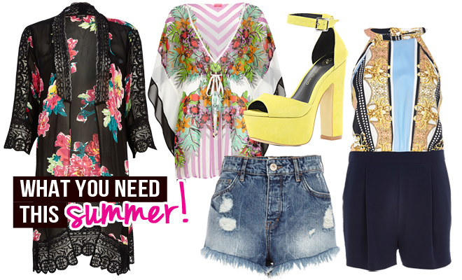 5 Fashion Pieces You NEED this Summer