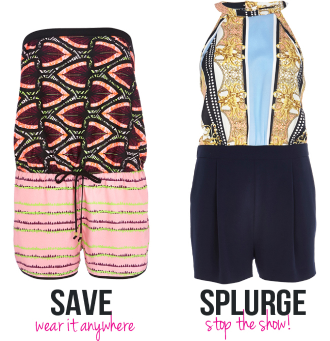 River Island Wardrobe Heros - Summer 2014 - The Playsuit