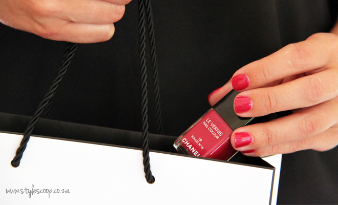 Chanel's Iconic Red Nail Polish Collection