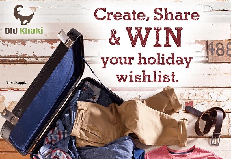 Create Your Old Khaki Wishlist and WIN It!
