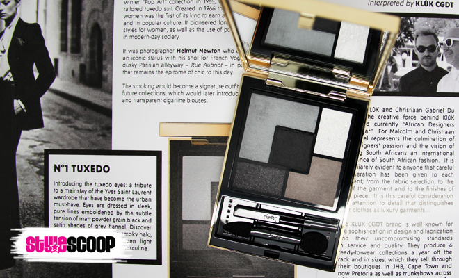 I Chatted to KLûK CGDT About Their YSL Tuxedo Palette Inspired Look