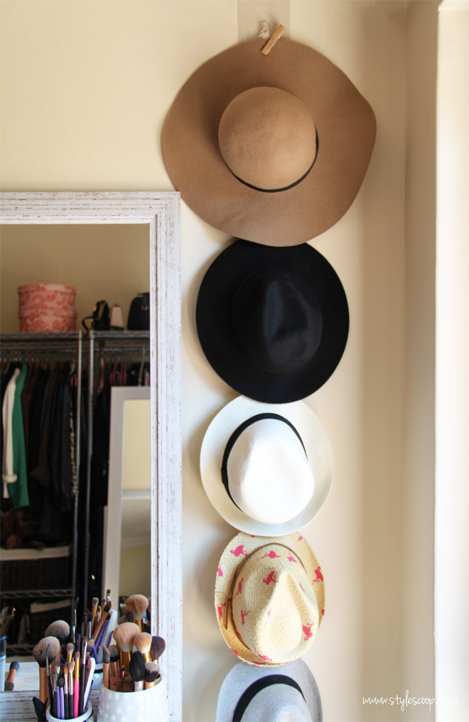 Hat Trick Diy Store And Display Your Hats Stylescoop