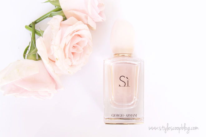 Giorgio Armani Sì | Fragrance and Reviw on StyleScoopBlog.com