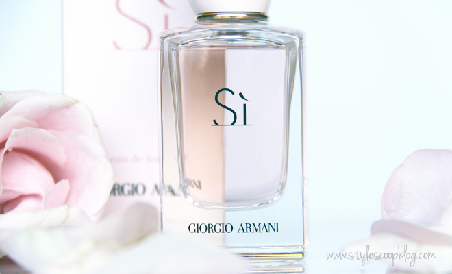 Giorgio Armani Sì, The Third Installment