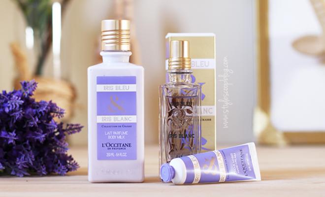 Iris Bleu & Iris Blanc – L'OCCITANE en Provence