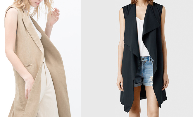 Wear It Now: The Longline Waistcoat
