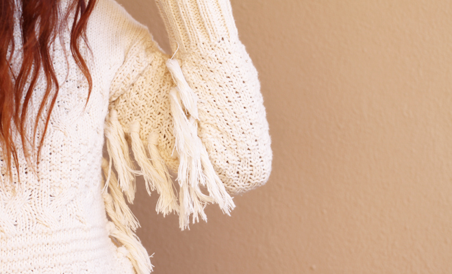 Sweater Weather Faves – The Fringed Knit