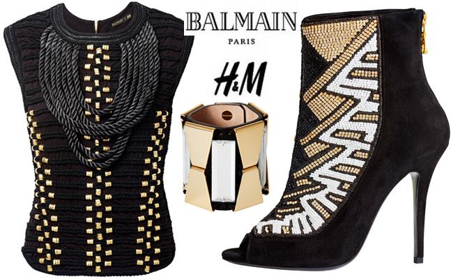 Balmain x H&M Hits Jozi Tonight! #HMxBalmain