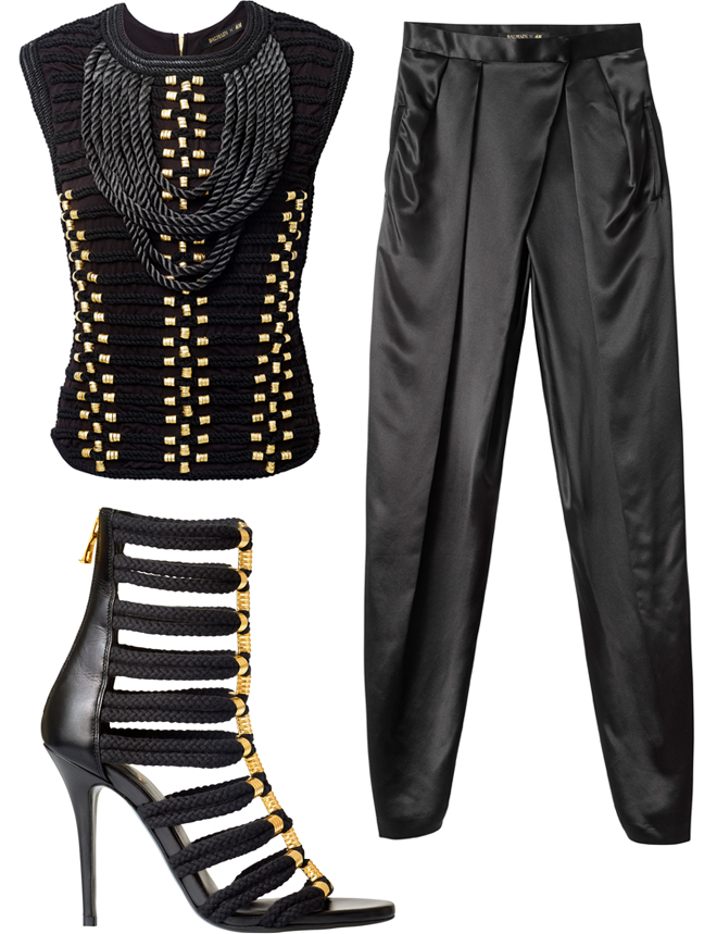 hm-south-africa-balmain-balmaination-top-with-braided-embroidery-silk-satin-suit-trousers-braided-sandals-price