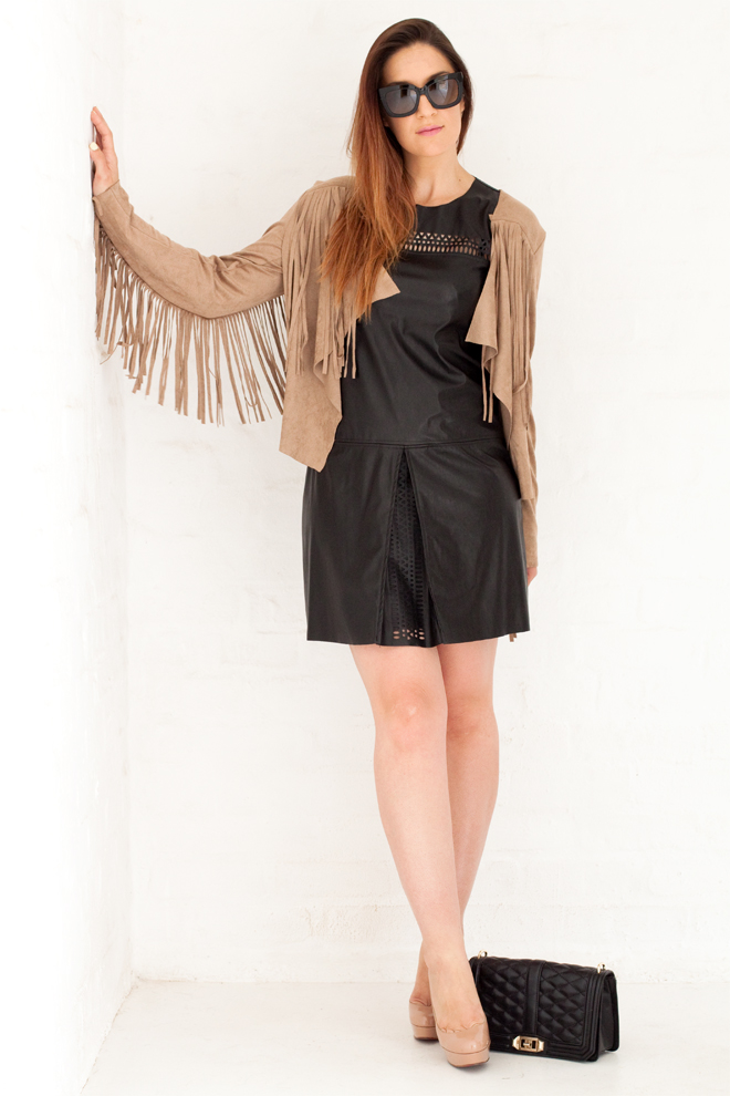 leather-dress-suede-fringe-jacket-outfit