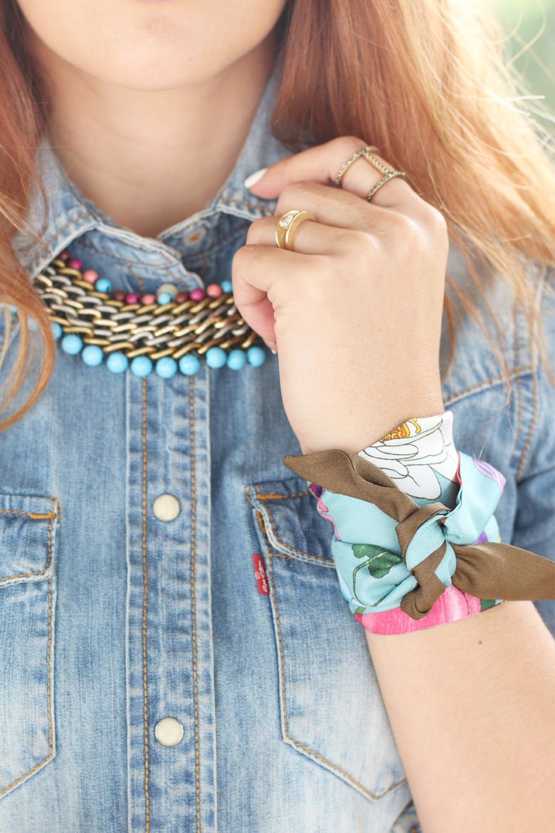 gucci-silk-neck-scarf-twilly-wrist-bow-how-to-wear-stylescoop