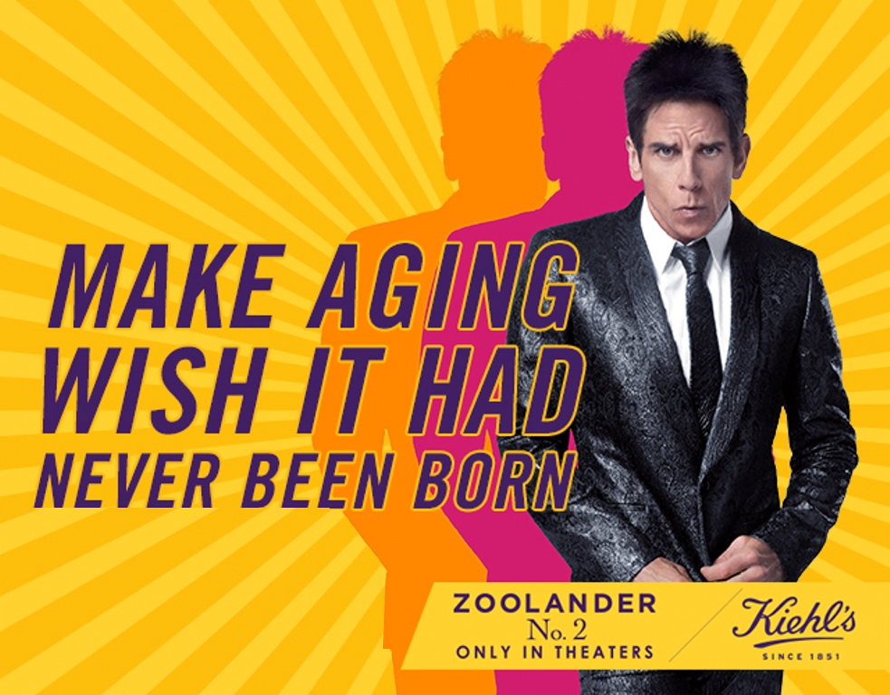 Derek Zoolander & Kiehl's are Keeping the Public Ridiculously Good Looking