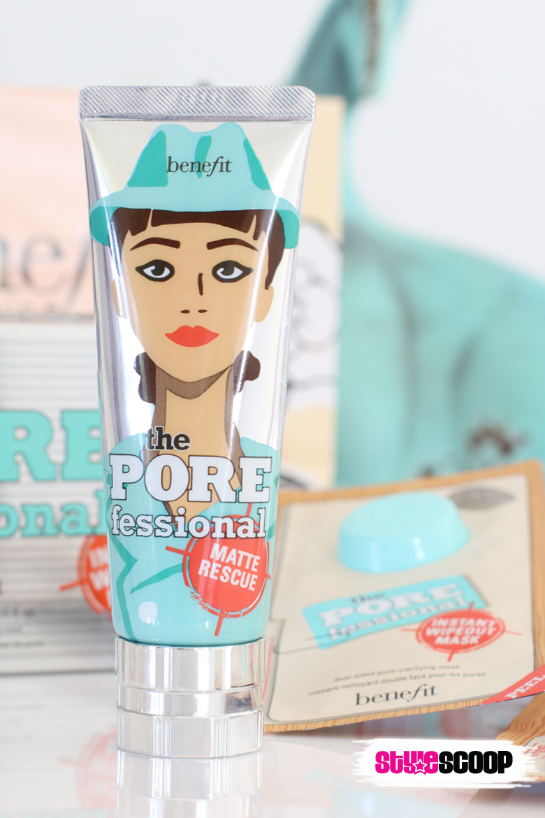 The Porefessional! New Matte Rescue & Instant Wipeout Masks