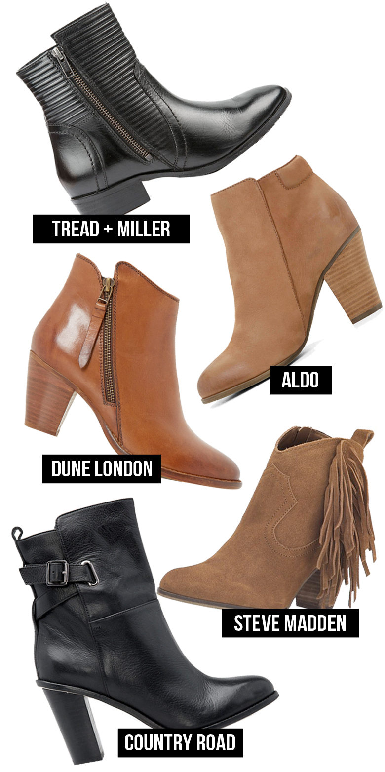Rounding up 6 of the Best Winter Booties