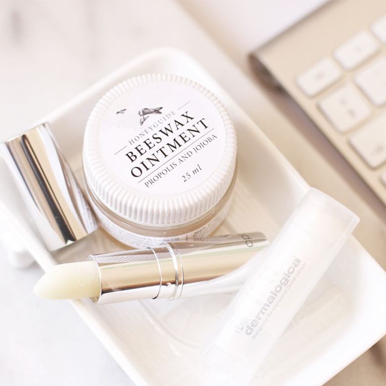 lip-balms-honeyguide-beeswax-ointment-optiphi-active-lip-fromula-dermalogica-climate-control-lip-balm-south-africa-beauty-blog-stylescoop