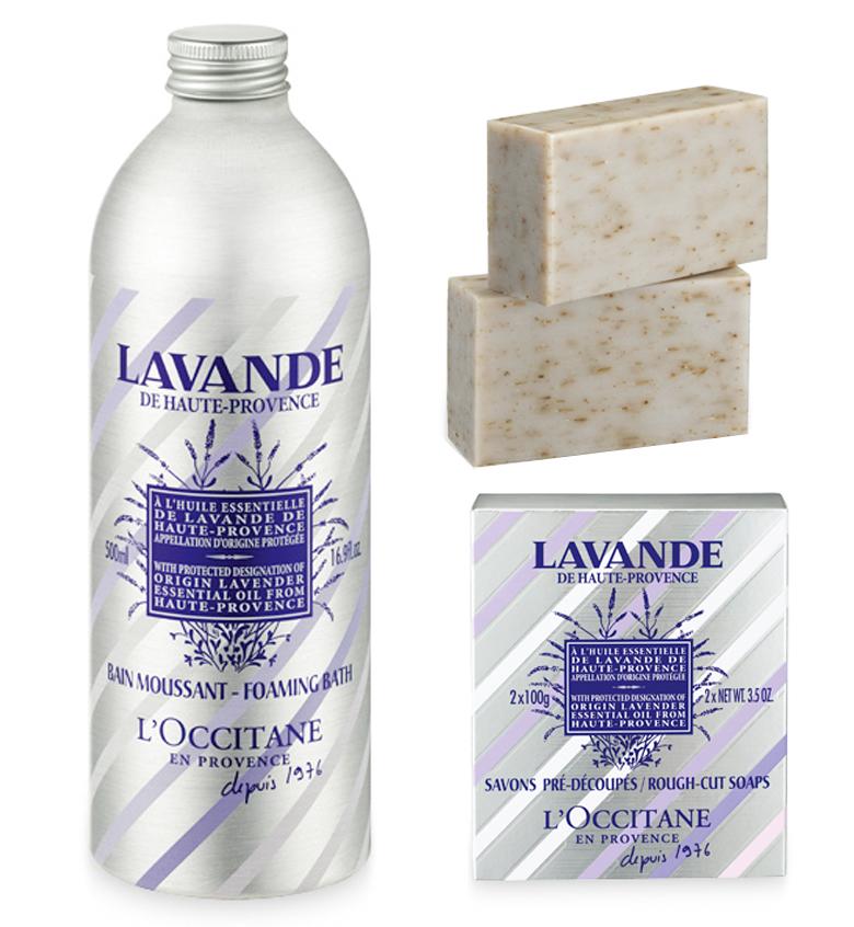 loccitane-40-anniverary-lavendar-lavande-foaming-bath-rough-cut-soap-south-africa