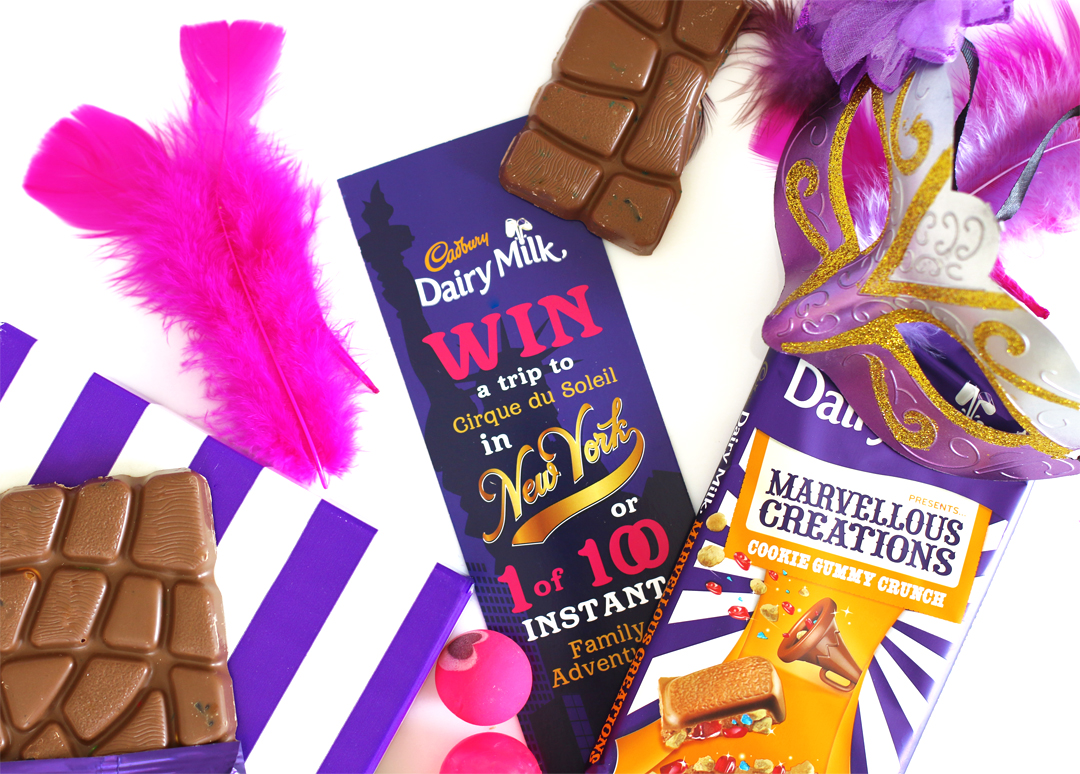 Get The Party Started & Win A Trip to NY with Cadbury Diary Milk [ended]