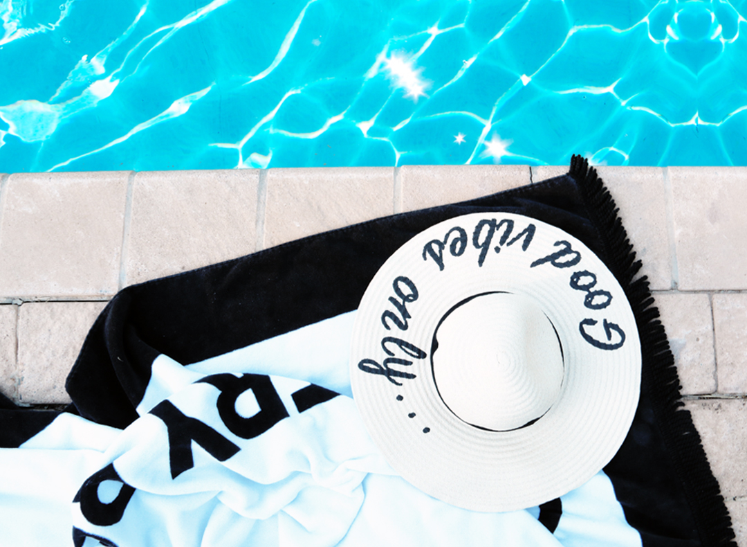 Pool Side Weekend Essentials