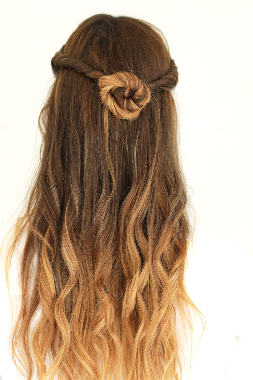 My Summer Hair Styles – Day & Night