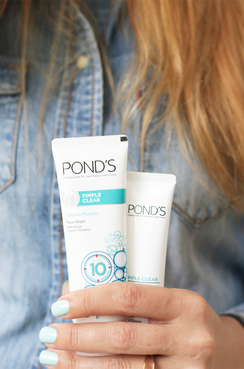 Pond's Pimple Clear Review & My 3 Day Challenge
