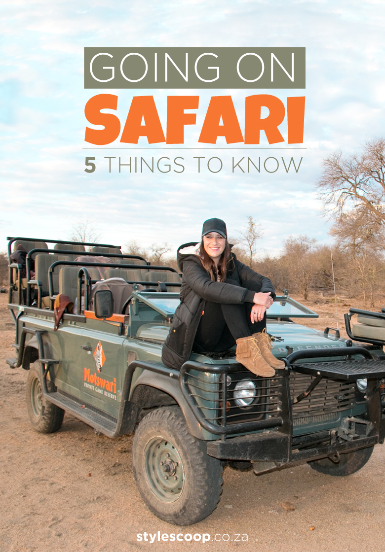 Going on Safari? Here's 5 Things I've Learnt