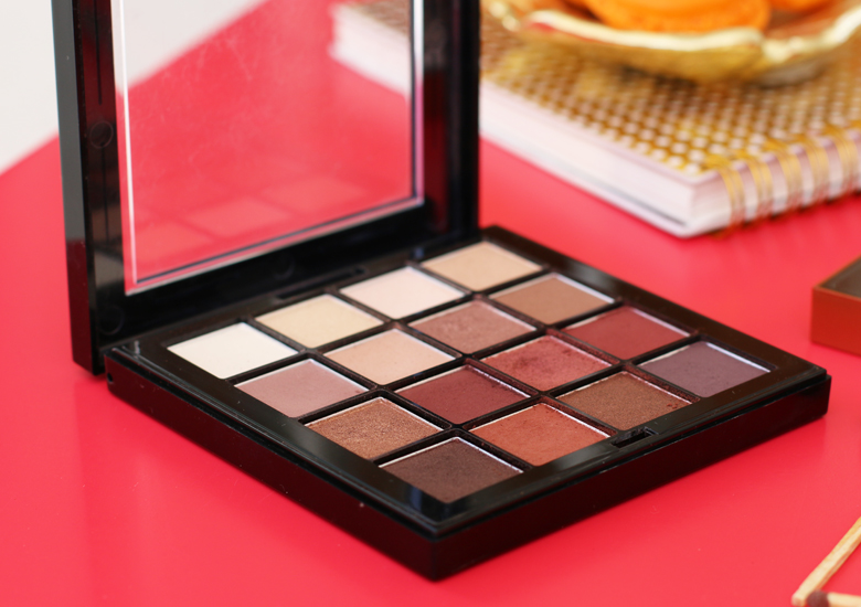 Review NYX Professional Ultimate Eye Shadow Palette in Warm Neutrals