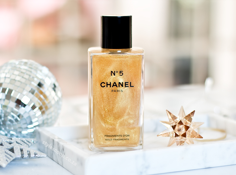 Chanel 2017 Holiday Collection - Fragments D'OR Body Gel on StyleScoop - South African Beauty Blogger