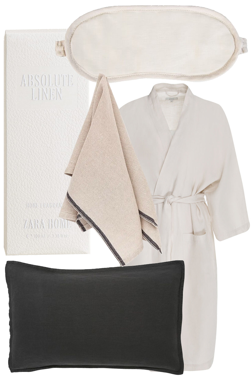 Gift Guide: Lovely Linen Luxuries